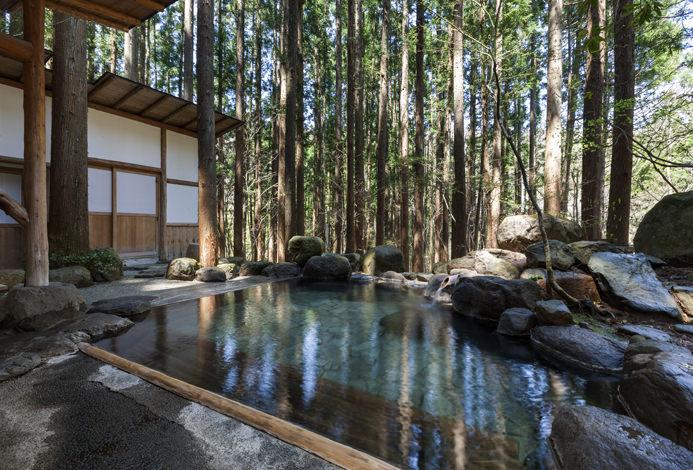 Sitios con aguas medicinales en Japón.