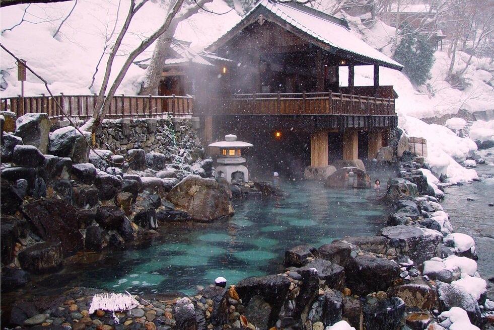 El baño, todo un ritual en Japó