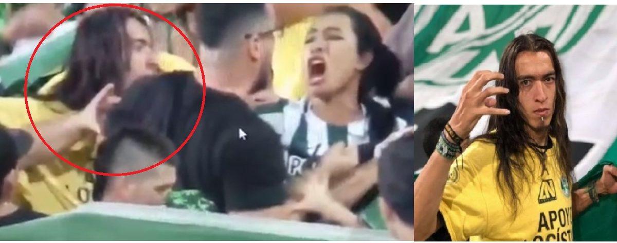 ¿Quién es el agresor en estadio de Medellín?