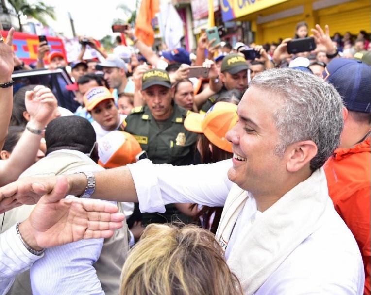 Iván Duque, electo presidente de Colombia