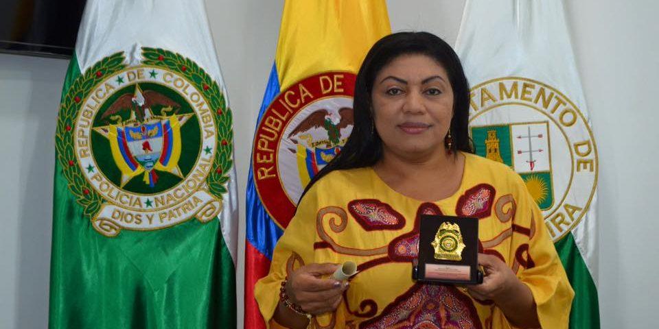 Oneida Pinto Pérez, exgobernadora de La Guajira.