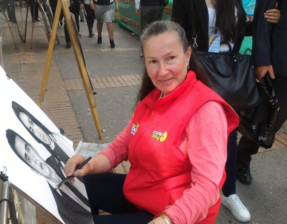 Luz Marina Ortiz López, retratista de la Séptima.