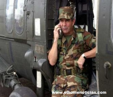 General Mario Montoya Uribe.