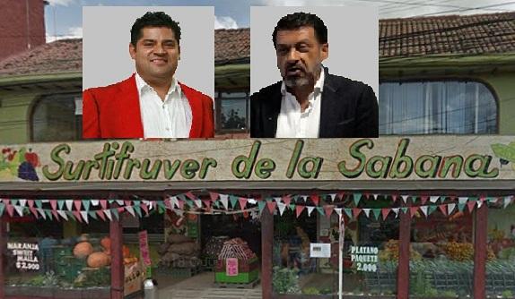 Jhonny Alonso Orjuela Pardo (izquierda), asesinado en Bogotá, y Mauricio Parra Rodríguez, señalado determinador de su homimidio.