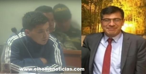 John Anderson Medina Camacho y Álvaro Torres Murcia, empleado del Banco de la República asesinado.