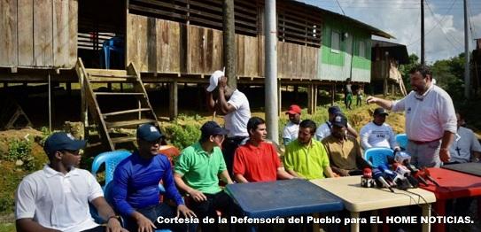 Defensor del Pueblo, Carlos Negret.