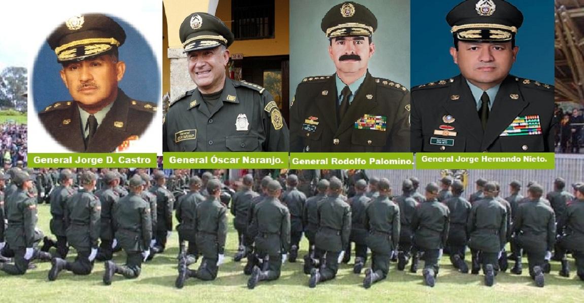 Directores de la Policía Nacional.
