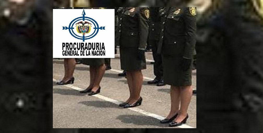 Leidy Yadira López Ocampo, patrullera denunciante.