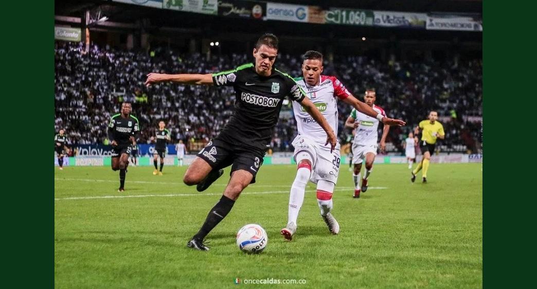 Once caldas y Nacional jugaron el primer partido de la final de la Copa Águila 2018.
