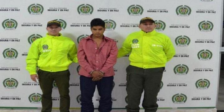 Yonatan Carvajal Holguín, alias Yolo supuesto responsable del triple homicidio de los geólogos en Yarumal.
