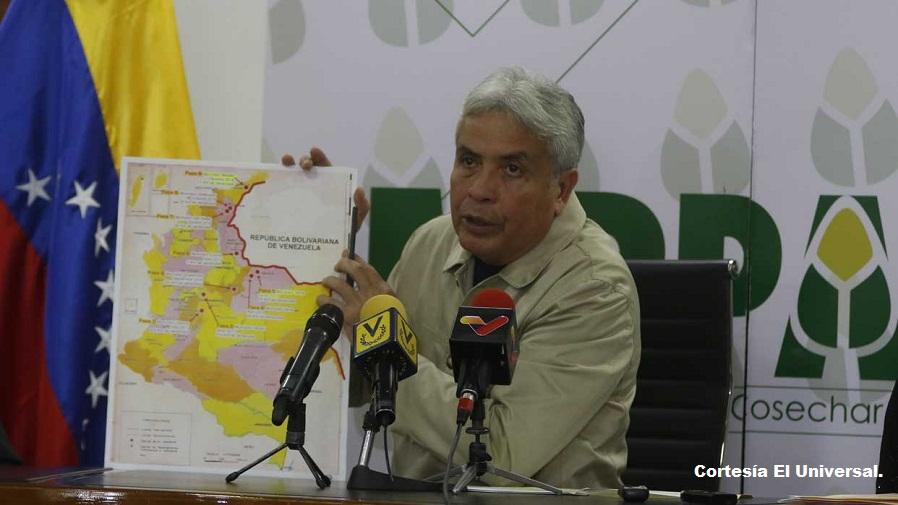 Wilmar Castro, ministro de Agricultura y Tierra.