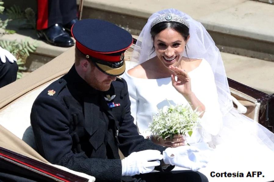 Los duques de Sussex se casaron en la capilla St. George en el castillo de Windsor.