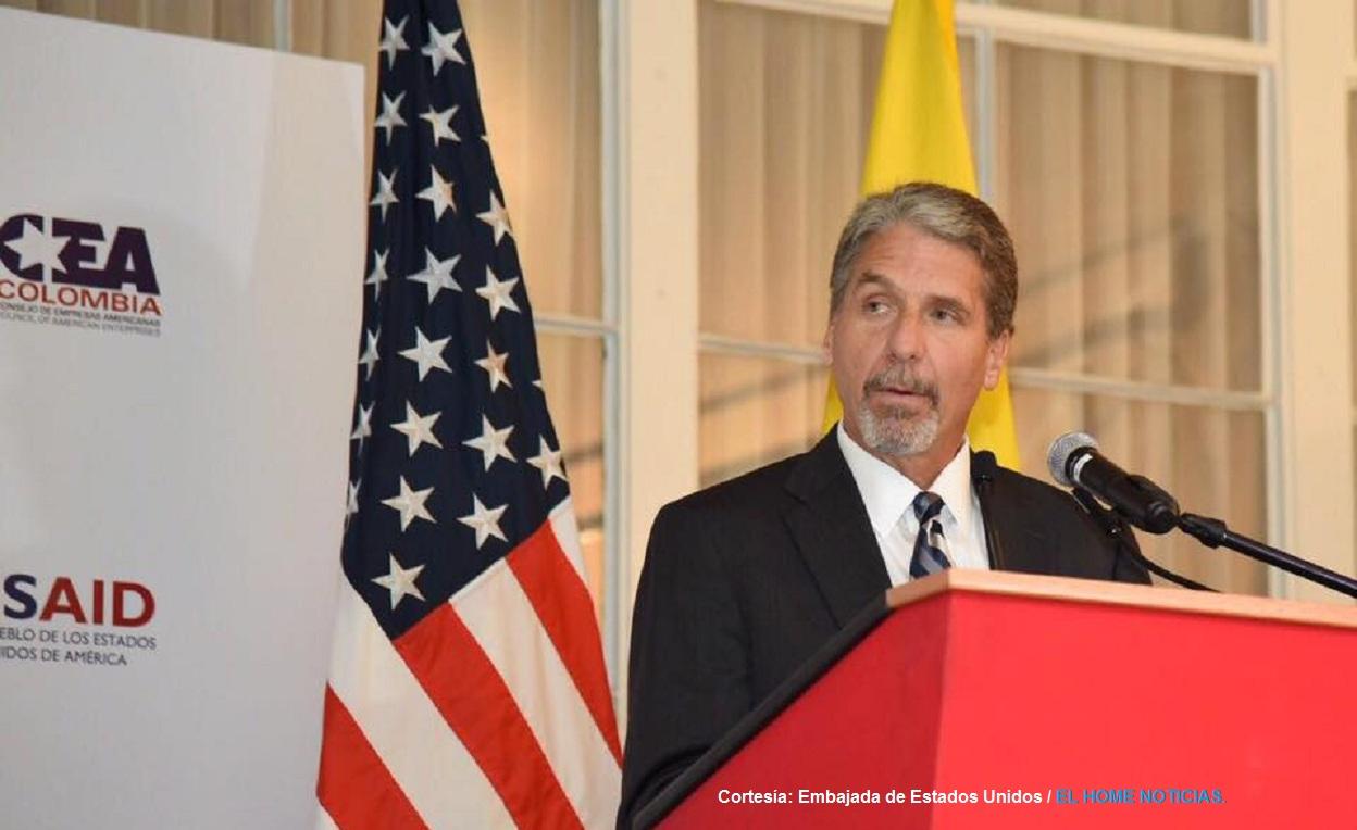 Embajador de EE.UU en Colombia, Kevin Whitaker