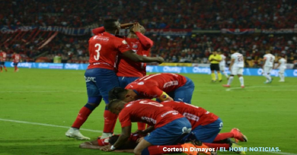 El goleador argentino Germán Ezequil Cano anotó el primer gol a favor del Independiente Medellín en duelo de semifinal frente al Tolima a los 58 minutos de juego.