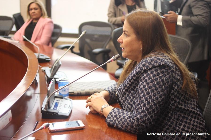 Martha Villalba, representante a la Cámara por el Atlántico.