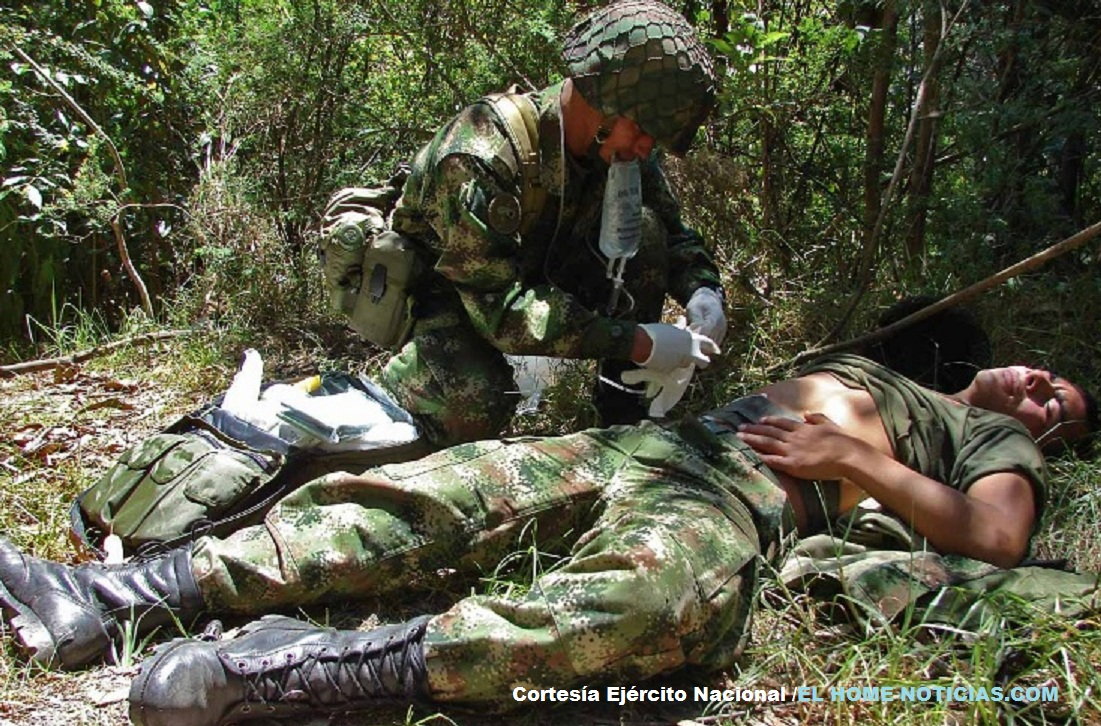 Los heridos en esta acción violenta del frente Héctor del Eln fueron llevados a un centro asistencial de Cúcuta, Norte de Santander.