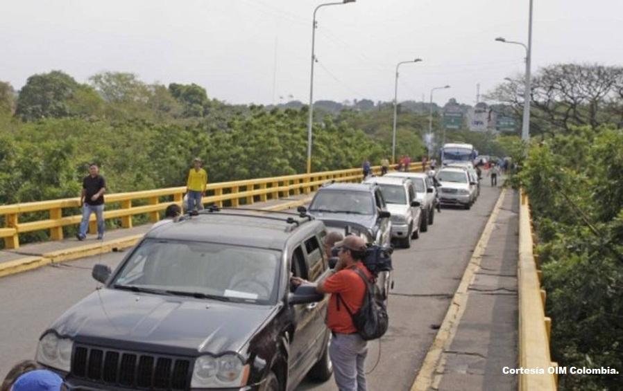 60 mil vehículos con placas venezolanas transitan por los distintos municipios del departamento de Norte de Santander.