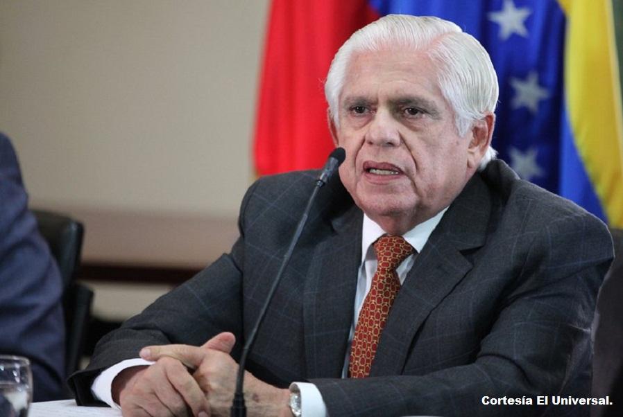 Omar Barboza, presidente de la Asamblea Nacional.