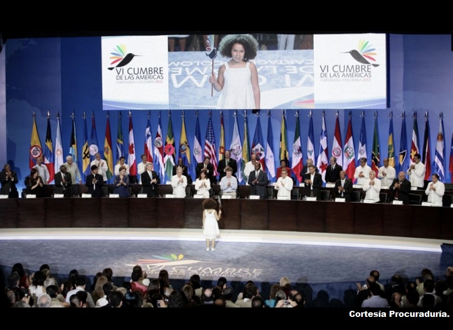 Cumbre de las Américas 2012.