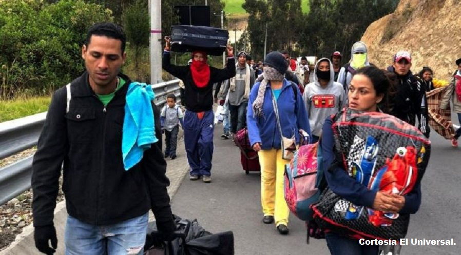 Perú es el segundo país de la región con mayor cantidad de migrantes venezolanos