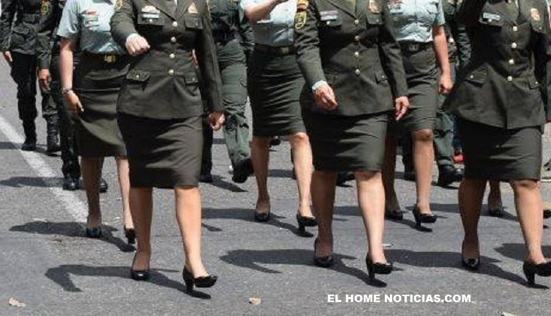 Mujeres Policías.