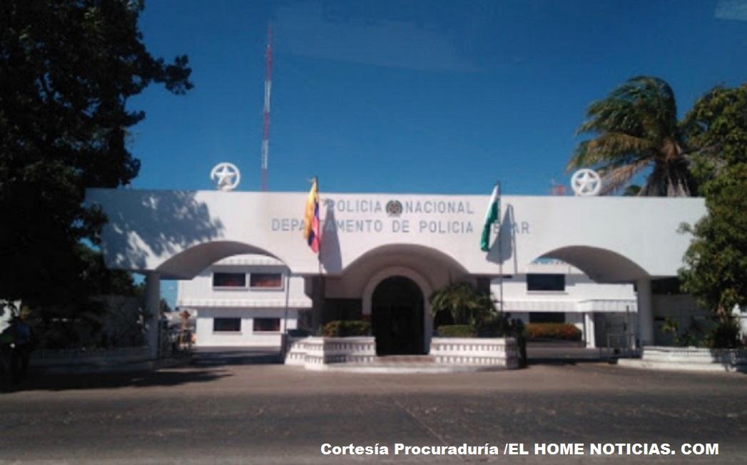 Comando de Policía Cesar.