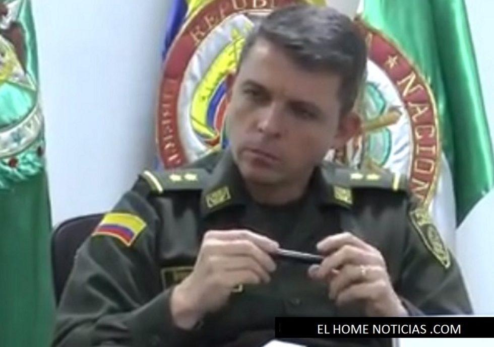 General Juan Carlos Buitrago Arias, director de Gestión Policía Fiscal y Aduanera, POLFA.