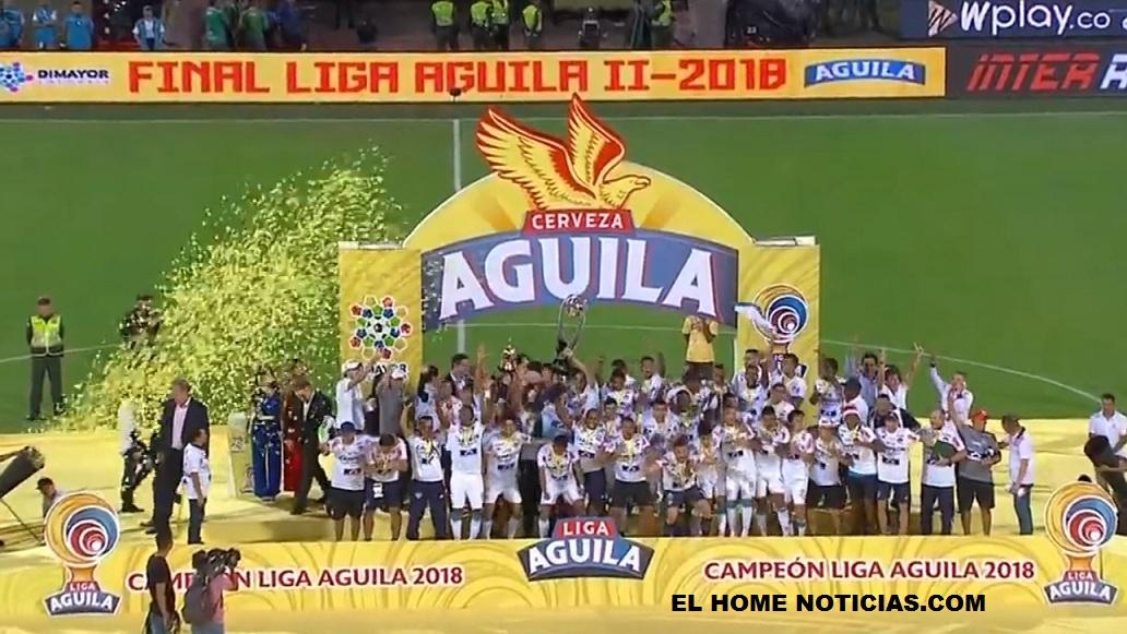 Junior campeón de la Liga 2018.