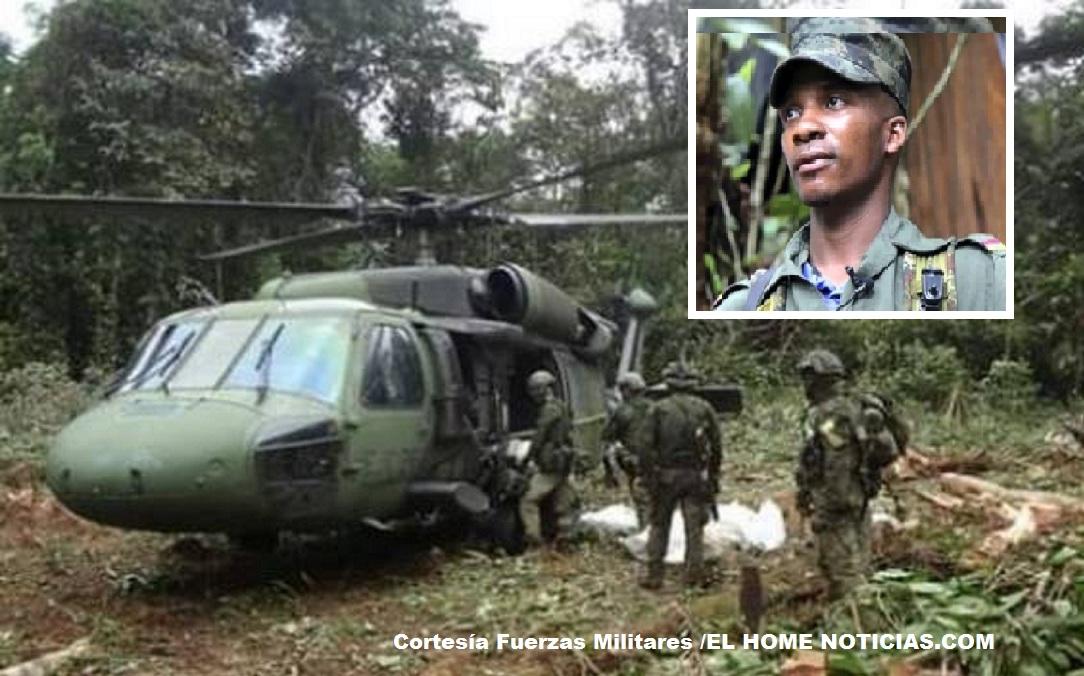 Alias Guacho cayó abatido en la vereda Peña Caraño, zona rural del corregimiento de Llorente en Nariño, sur de Colombia.
