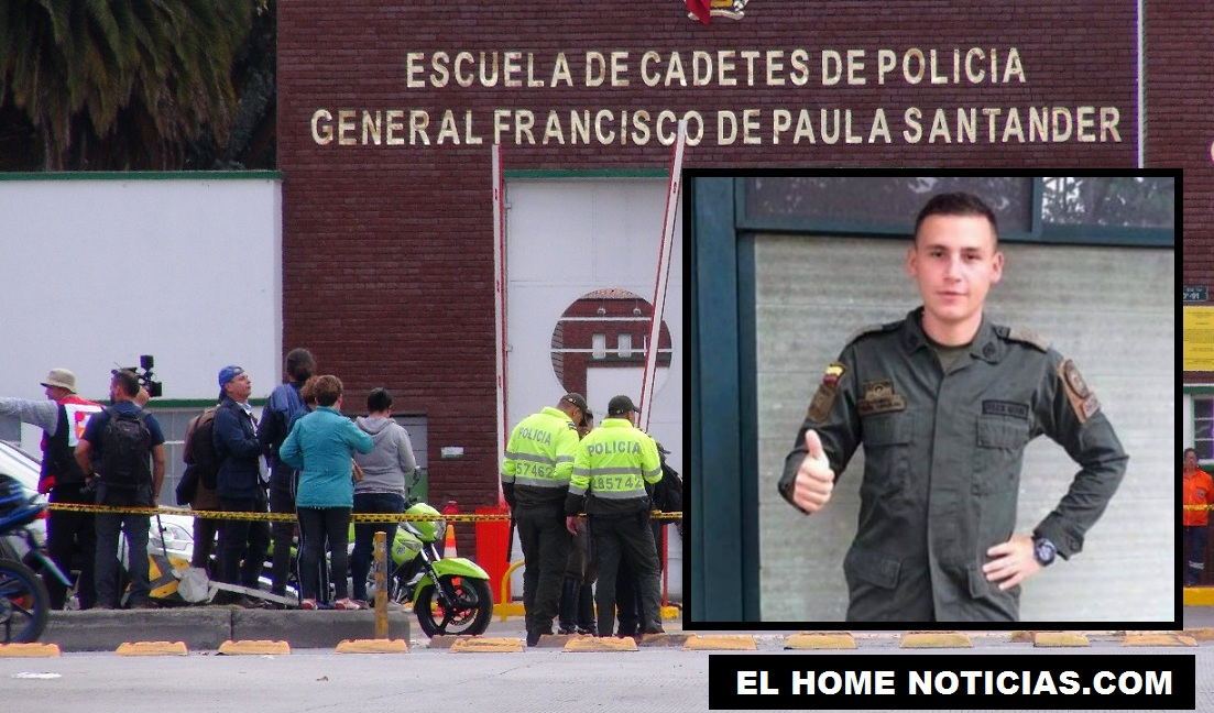 Andrés Felipe Carvajal, murió después de resultar afectado por la explosión de un carro bomba.