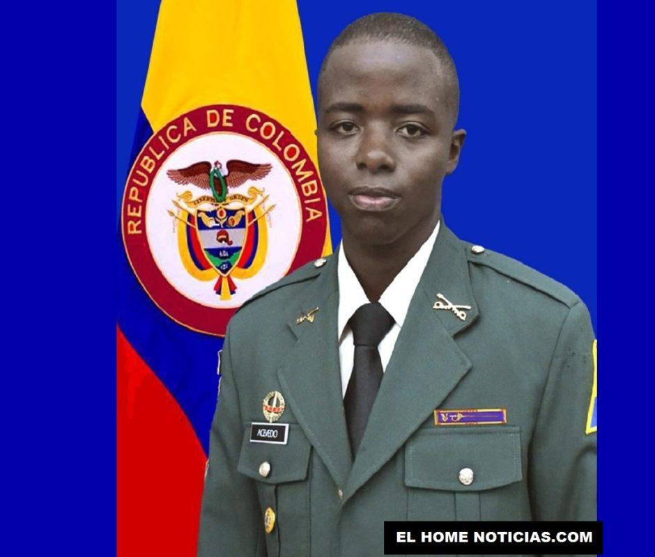 El cabo primero Ángel Mauricio Acevedo Torres fue secuestrado.