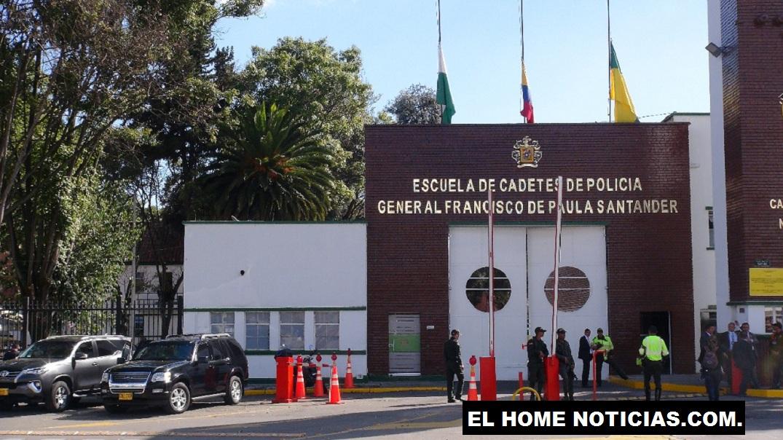 Escuela de Cadetes de la Policía, General Francisco de Paula Santander, que fue objeto de un atentado terrorista.