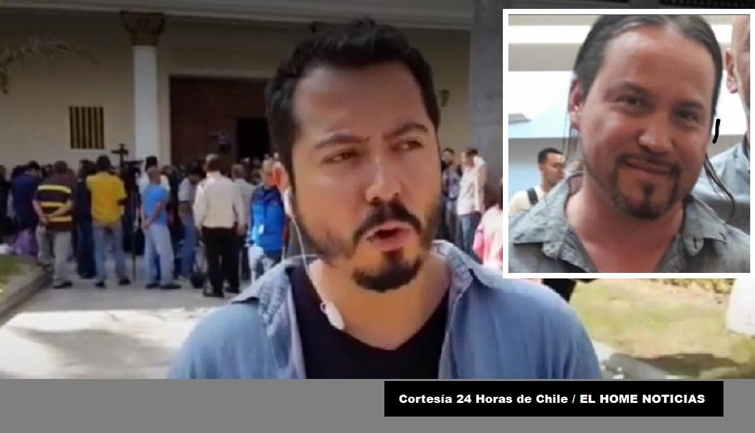 Los comunicadores de TVN de Chile, Rodrigo Pérez y Gonzalo Barahona, fueron detenidos por miembros de la guardia presidencial venezolana este martes en la noche.