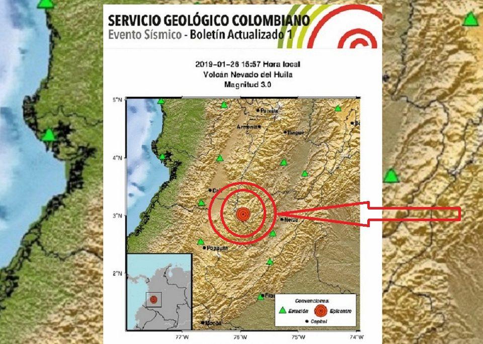 El temblor se sintió con mayor intensidad en capitales como Cali, Ibagué, Neiva, según el Servicio Geológico Colombiano.