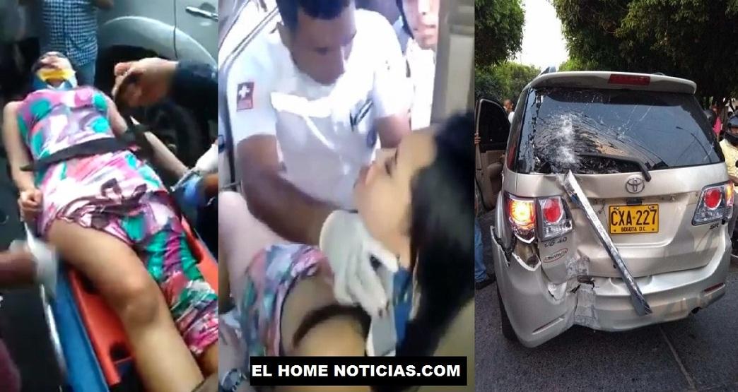 Accidente de Ana del Castillo.