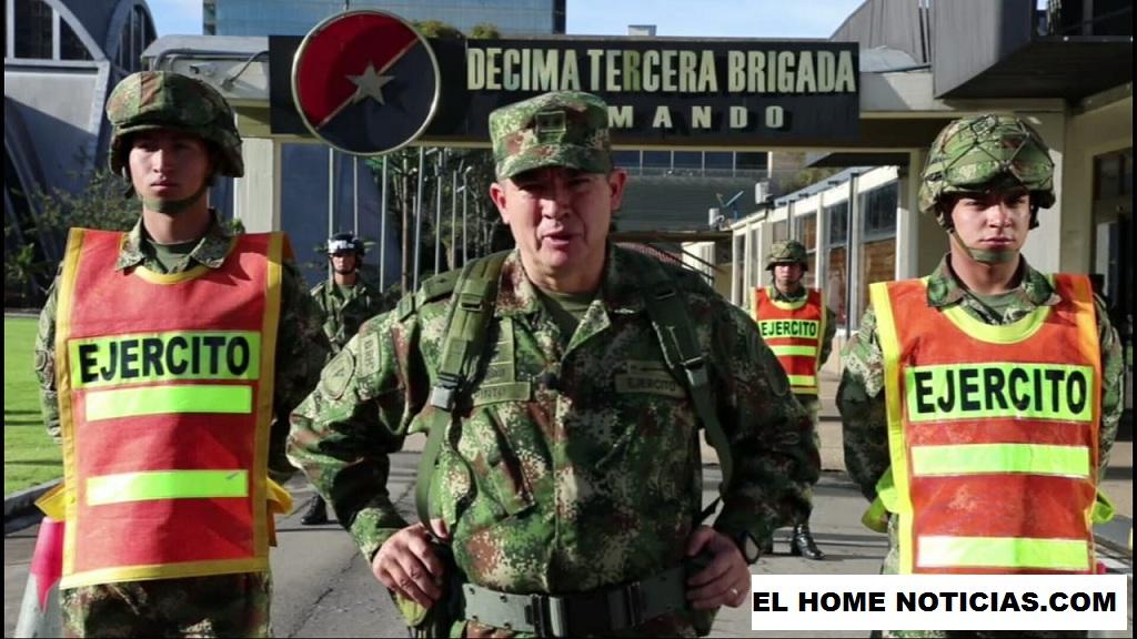 Brigadier general Marcos Evangelista Pinto, dio a conocer la nueva estrategia de seguridad en Bogotá.