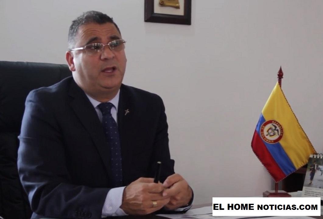 César Augusto Ceballos Giraldo, director de la cárcel La Modelo