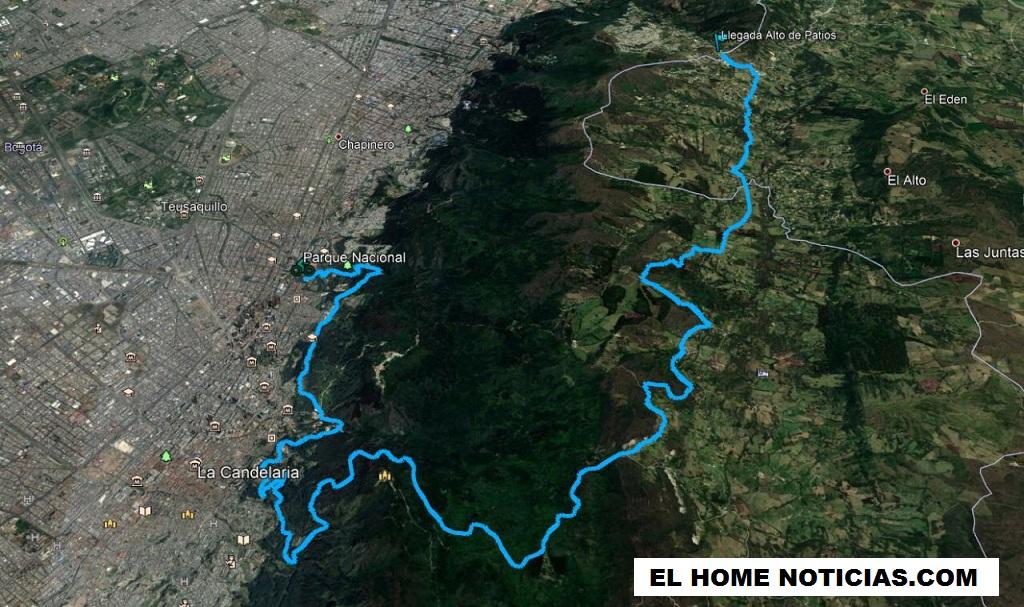 Esta es la ruta que tendrá presencia de 200 hombres del Ejército para seguridad de los ciclistas capitalinos.