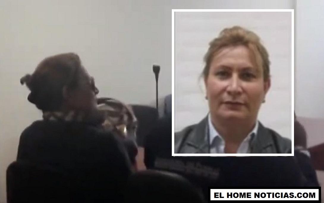 Giselle Jaller Jabboul, más conocida como la Mona Jaller, dijo a la salida de una audiencia que sabía quienes mataron a Álvaro Gómez Hurtado.