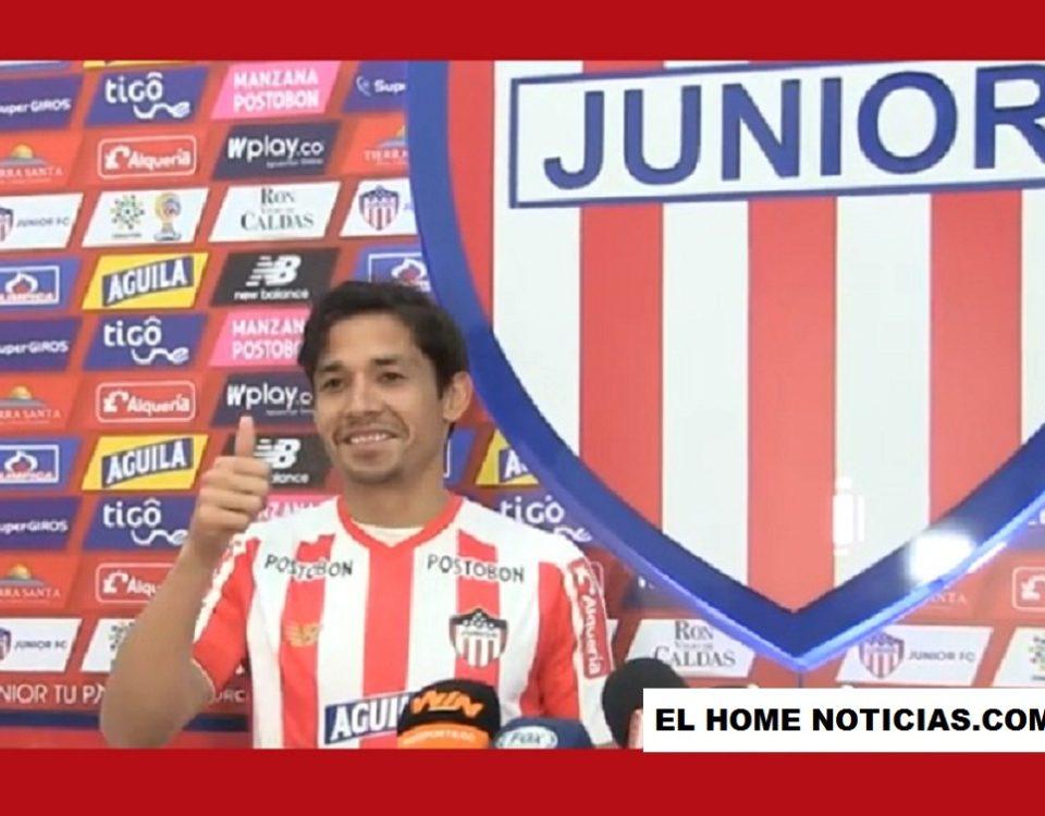 Matías Fernández, firmó como el nuevo refuerzo del Junior de Barranquilla.