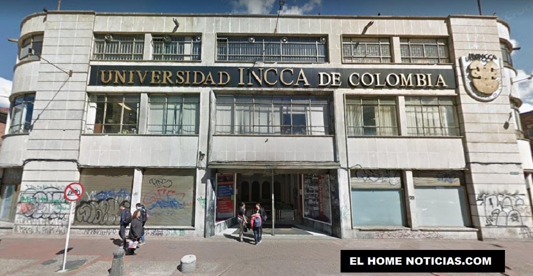 Universidad Incca de Colombia, centro educativo de educación superior. Sede en Bogotá.