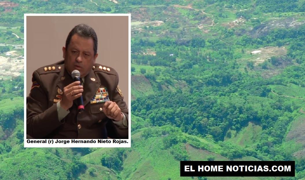 El exdirector de la Policía, general (r) Jorge Hernando Nieto Rojas lleva a cuestas el fracaso de permitir el aumento de los cultivos ilícitos en el país.