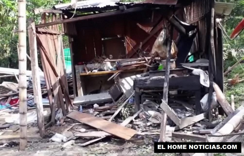 Una explosión en una casa dentro de una finca ubicada en la vereda Juntas, en Dagua (Valle del Cauca) dejó 8 personas muertas y 9 heridas.