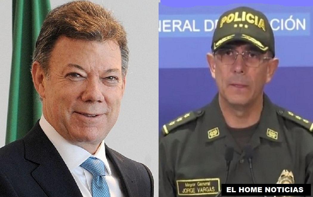 El expresidente Juan Manuel Santos y el general Jorge Luis Vargas Valencia son denunciados por Fernando Balda Flores de tener algo que ver con su secuestro en Bogotá.