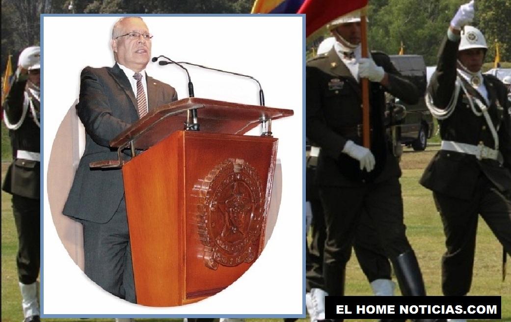 General (r) Jorge Alirio Barón Leguizamón, director de la Caja de Sueldos de Retiro de la Policía Nacional, Casur.