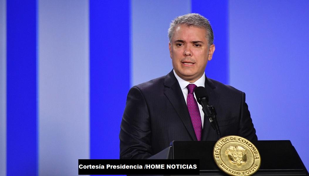 El presidente Iván Duque Márquez le solicitó a la minga indígena que levanten los bloqueos y abrir la posibili