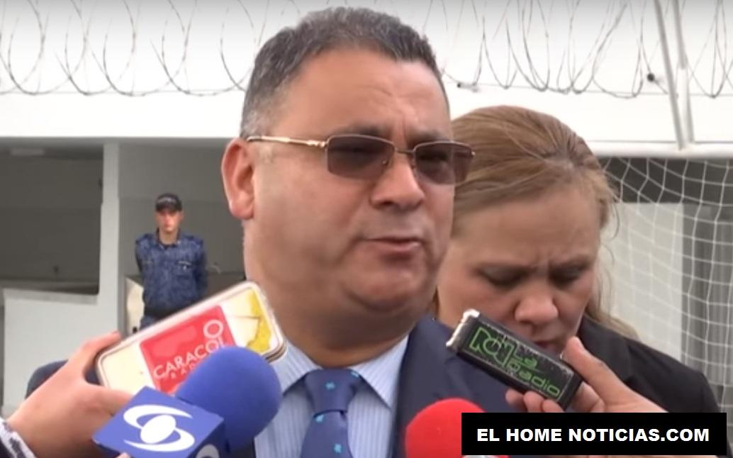 El abogado César Augusto Ceballos, exdirector de la Cárcel La Modelo de Bogotá, está preso desde el pasado 30 de enero.
