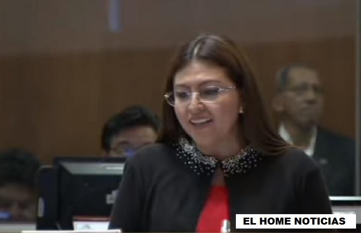 Sofía Espín, exasambleísta ecuatoriana...