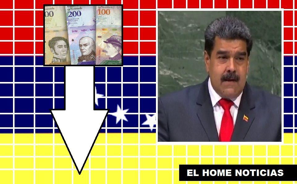 El régimen de Nicolás Maduro ocultó las cifras durante cuatro años. El BCV reveló la realidad que afronta el país, la caída de la economía.