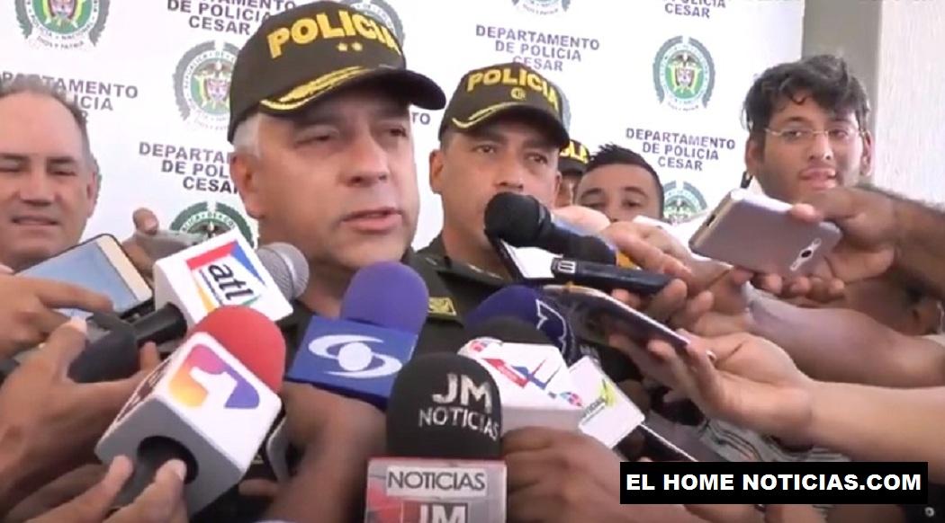 Brigadier general Gonzalo Ricardo Londoño Portela, director de la Dijín.